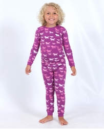 Cowgirl Hardware® Girls' Infant Toddler Cowgirl PJ Set