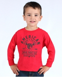 Cowboy Hardware® Boys' Born And Raised Long Sleeve Tee