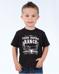 Cowboy Hardware® Boys' Team Roping Ranch Tee