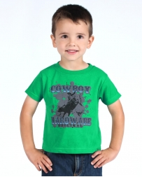 Cowboy Hardware® Boys' Original Bull Short Sleeve Tee