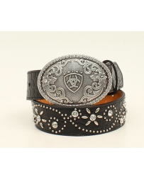 Ariat® Girls' Black Trend Belt