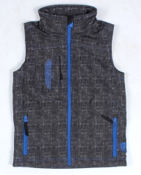 Cowboy Hardware® Boys' Grafitti Skulls Poly Vest