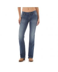 Wrangler Retro® Ladies' Mid-Rise Mae Boot Cut Jeans