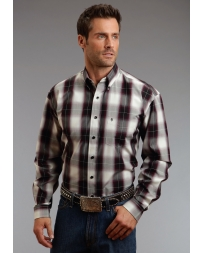 Stetson® Men's Long Sleeve Plaid Shirt