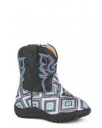 Roper® Girls' Geometric Glitter Boots - Infant