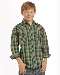 Rock & Roll Cowboy® Boys' Snap Shirt