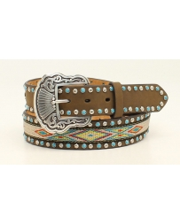 Nocona® Ladies' Ribbon Inlay Belt