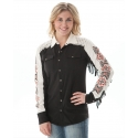 Cowgirl Tuff® Ladies' Fringe Button Front Shirt