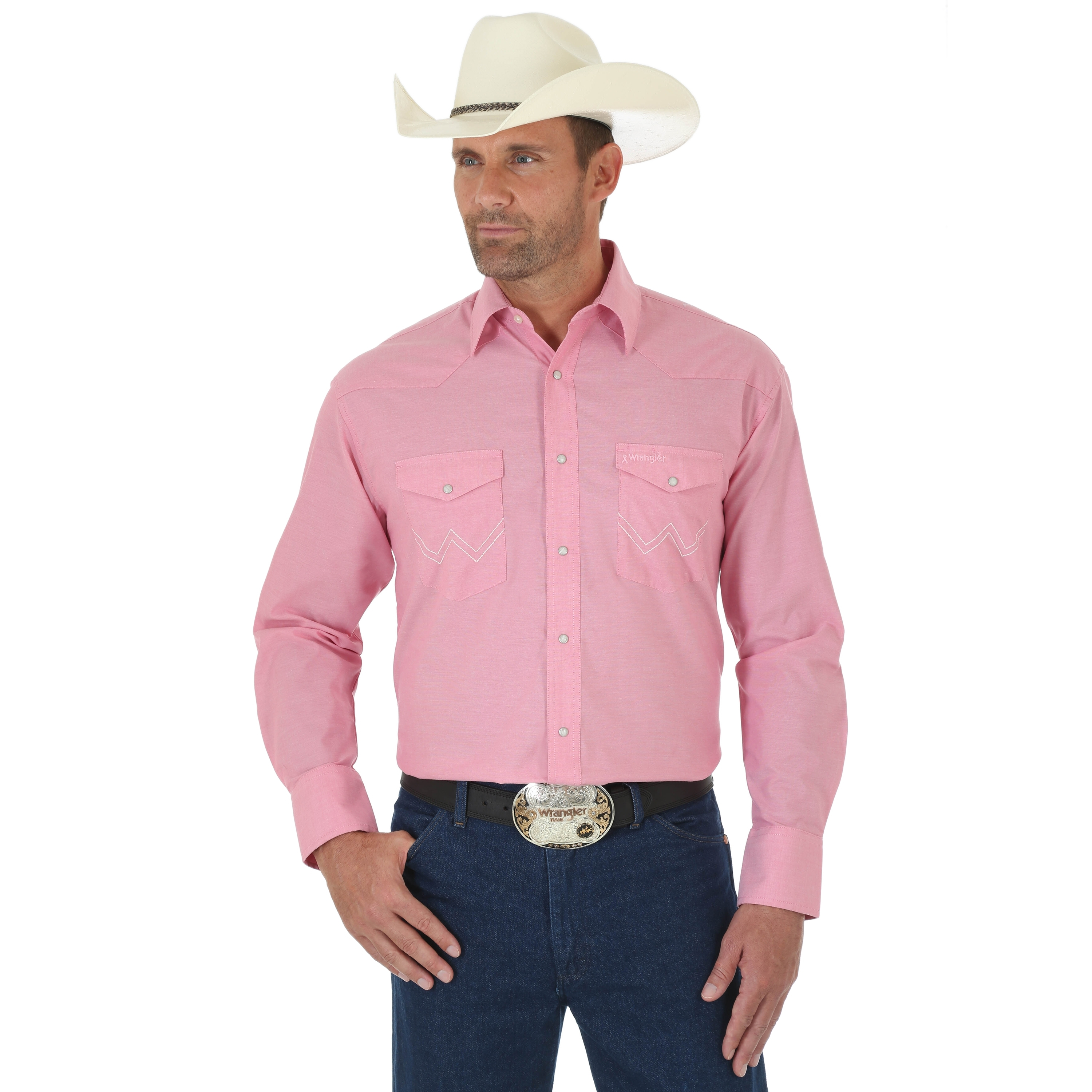Menu2019S Pink Long Sleeve Shirt - Shirts Rock