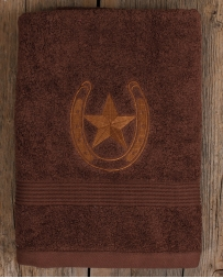 Western Moments® Star & Horseshoe Bath Towel