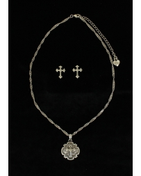 M&F Western Products® Ladies' Cross Necklace Set