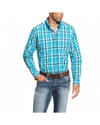 Ariat® Men's Everett Long Sleeve Plaid Shirt