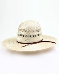 Rodeo King® Open Crown Rami Straw Hat