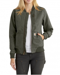 Carhartt® Ladies' Crawford Bomber Jacket