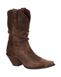 Durango® Ladies' Crush Brown Sultry Slouch Boots