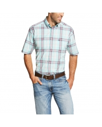 Ariat® Men's Forest Short Sleeve Plaid Shirt - Big & Tall