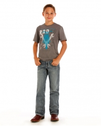 Rock & Roll Cowboy® Boys' Regular Boot Cut Jeans