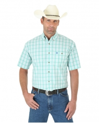 George Strait® Men's Short Sleeve Plaid Shirt