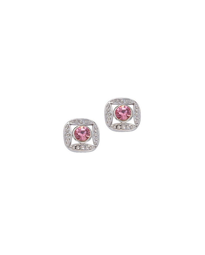 Montana Silversmiths Las Pink Stone Earrings