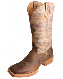 Twisted X Boots® Men's Ruff Stock Distressed Crazy Horse Boots