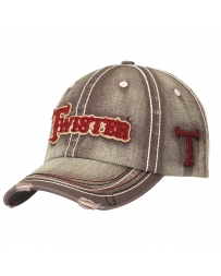 Twister Men's Adjustable Logo Cap
