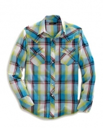 Tin Haul® Men's Long Sleeve Ombre Plaid Shirt
