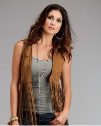 Stetson® Ladies' Faux Suede Vest
