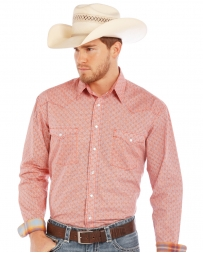 Rough Stock® by Panhandle Slim Men's Long Sleeve Snap Print Shirt