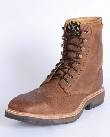 "Twisted X Boots® Men's Steel Toe 8"" Lacer Work Boot"