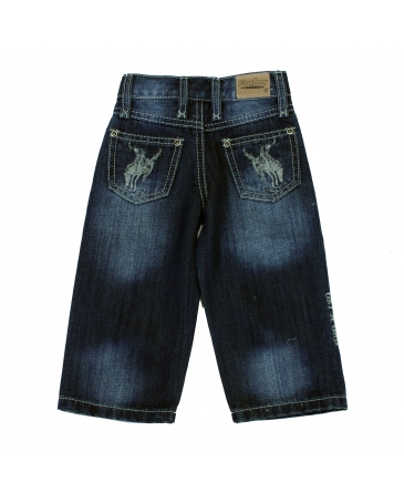 Cowboy Hardware® Boys' Buckaroom Embroidered Jean