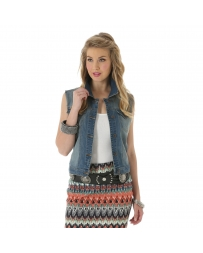 Wrangler® Ladies' Denim Vest