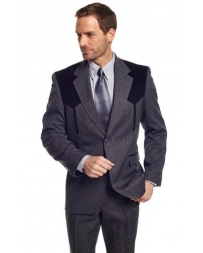 Circle S® Men's Charcoal Heather Boise Sportcoat