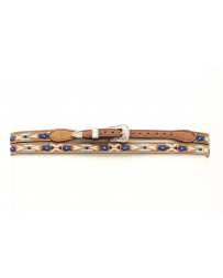 M&F Western Products® Genuine Leather Hatband