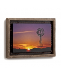 Sundown Barnwood Shadow Box by David Stoecklein