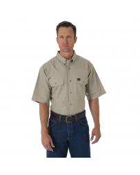 Riggs® Men's Short Sleeve Ripstop Work Shirt