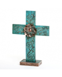 "Big Sky Carvers® ""Prairie Rose"" Small Cross"
