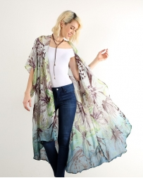 Hem & Thread® Ladies' Long Kimono