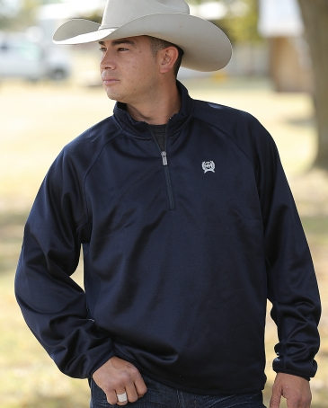 Cinch® Men's 1/4 Zip Pullover Sweater