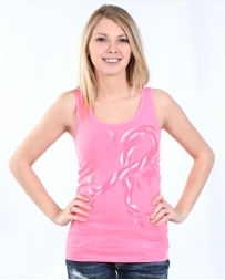 Wrangler® Ladies' Tough Enough To Wear Pink® Tank