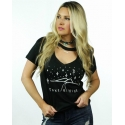 Ali Dee® Ladies' Take Hike Choker Tee