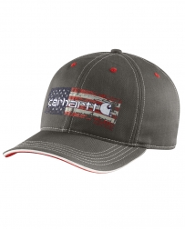 Carhartt® Men's Distressed Flag Graphic Cap