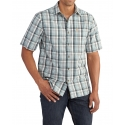 Carhartt® Men's Essential Plaid Open Collar Short Sleeve Shirt - Big & Tall