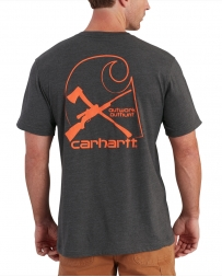 Carhartt® Men's Maddock Graphic Rugged Outdoors Branded C Pocket Short Sleeve Tee