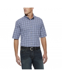 Ariat® Men's Short Sleeve Regis Plaid Shirt