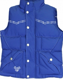 Cowboy Hardware® Boys' Bucking Horse Nylon Vest