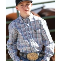 Cinch® Boys' Long Sleeve Button Down Shirt