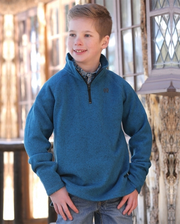 Cinch® Boys' Quarter Zip Pulloever