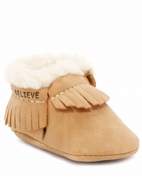 First Step® Kids' Faux Lamb Fur Moc