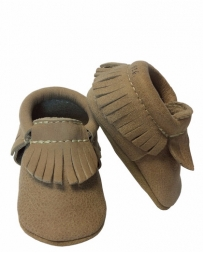 First Step® Kids' Nubuck Dream Big Moc