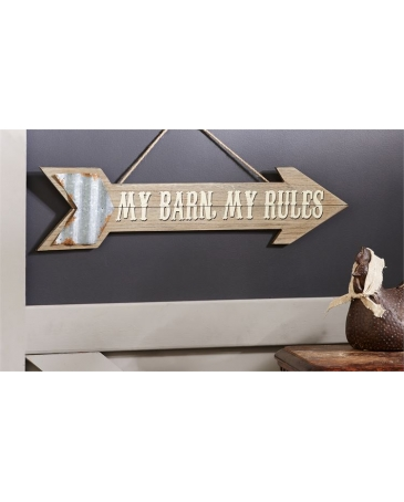 Gift Craft® Arrow Wall Plaque
